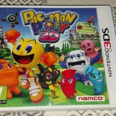 Videojuegos y Consolas: PAC MAN PACMAN PARTY 3D NINTENDO 3DS PAL ESPAÑA. Lote 293697418
