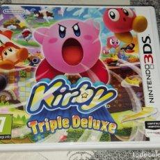 Videojuegos y Consolas: KIRBY TRIPLE DELUXE NINTENDO 3DS PAL ESPAÑA. Lote 293697573