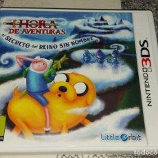 Videojuegos y Consolas: HORA DE AVENTURAS EL SECRETO DEL REINO SIN NOMBRE NINTENDO 3DS PAL ESPAÑA. Lote 293699683