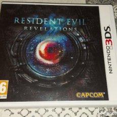 Videojuegos y Consolas: RESIDENT EVIL REVELATIONS NINTENDO 3DS PAL ESPAÑA COMPLETO. Lote 293788558