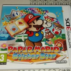 Videojuegos y Consolas: PAPER MARIO STICKER STAR NINTENDO 3DS PAL ESPAÑA COMPLETO. Lote 293788983