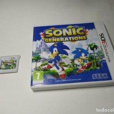 Videojuegos y Consolas: SONIC GENERATIONS ( NINTENDO 3DS - PAL - ESP) (1). Lote 293871398