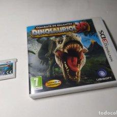 Videojuegos y Consolas: COMBATE DE GIGANTES DINOSAURIOS 3D ( NINTENDO 3DS - PAL - ESP). Lote 293871513
