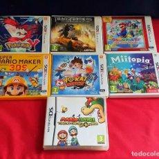 Videojuegos y Consolas: LOTE DE CAJA VACIAS NINTENDO 3 DS Y 1 DS.VER FOTOS. Lote 294369493