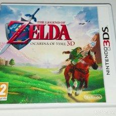 Videojuegos y Consolas: LEGEND OF ZELDA OCARINA OF TIME NINTENDO 3DS PAL ESPAÑA COMPLETO. Lote 294445458