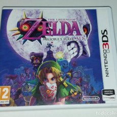 Videojuegos y Consolas: LEGEND OF ZELDA MAJORAS MASK 3D NINTENDO 3DS PAL ESPAÑA COMPLETO. Lote 294445698