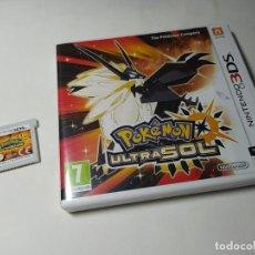 Videojuegos y Consolas: POKEMON ULTRASOL ( NINTENDO 3DS - PAL - ESP) (1). Lote 294462323