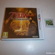 Videojuegos y Consolas: THE LEGEND OF ZELDA A LINK BETWEEN WORLDS NINTENDO 3DS PAL ESPAÑA. Lote 295364913