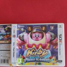 Videojuegos y Consolas: KIRBY: PLANET ROBOBOT NINTENDO 3DS. Lote 295833283