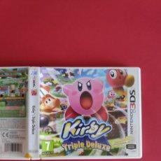 Videojuegos y Consolas: KIRBY: TRIPLE DELUXE NINTENDO 3DS. Lote 295833588