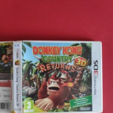 Videojuegos y Consolas: DONKEY KONG: COUNTRY RETURNS 3D NINTENDO 3DS. Lote 295836338