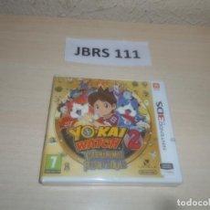Videojuegos y Consolas: 3DS - YO-KAI WATCH 2 - CARNAMINAS , PAL ESPAÑOL , PRECINTADO. Lote 295943168