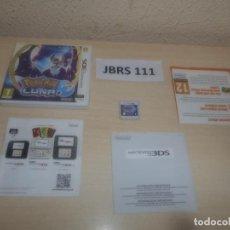 Videojuegos y Consolas: 3DS - POKEMON LUNA , PAL ESPAÑOL , COMPLETO. Lote 295943288