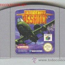 Videojuegos y Consolas: JUEGO PARA NINTENDO 64. AEROFIGHTERS ASSSAULT. SIN INSTRUCCIONES NI CAJA.. Lote 25327530