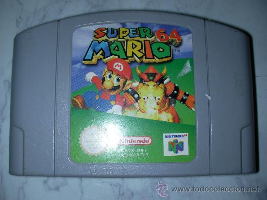 Antiguo Juego Nintendo 64 Super Mario 64 Comprar Videojuegos Y
