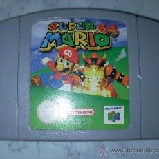 Videojuegos y Consolas: ANTIGUO JUEGO NINTENDO 64 SUPER MARIO 64. Lote 48457809