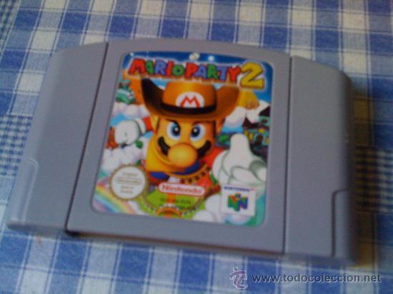 Mario party 2 para la nintendo 64 n64 pal cartu - Sold through