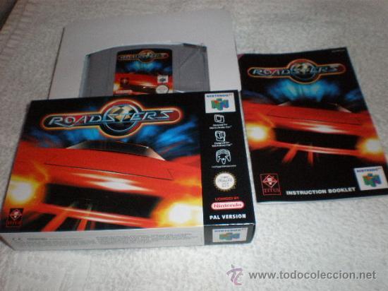 ROADSTERS PARA NINTENDO 64 NUEVO A ESTRENAR PAL ESPAÑA COMPLETO (Juguetes - Videojuegos y Consolas - Nintendo - Nintendo 64)