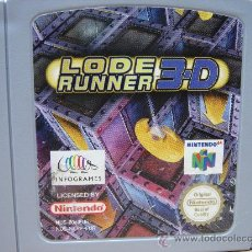 Videojuegos y Consolas: VIDEO JUEGO NINTENDO 64 - PAL - LODE RUNNER 3D - LODERUNNER. Lote 29165193