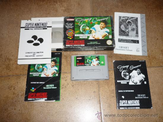 Videojuegos y Consolas: JUEGO SUPER NINTENDO 64 PAL VERSION JIMMY CONNORS PRO TENNIS TOUR 1993 - Foto 1 - 29286429