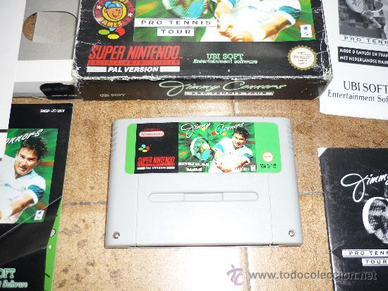 Videojuegos y Consolas: JUEGO SUPER NINTENDO 64 PAL VERSION JIMMY CONNORS PRO TENNIS TOUR 1993 - Foto 2 - 29286429