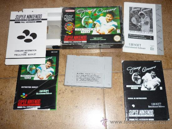 Videojuegos y Consolas: JUEGO SUPER NINTENDO 64 PAL VERSION JIMMY CONNORS PRO TENNIS TOUR 1993 - Foto 3 - 29286429