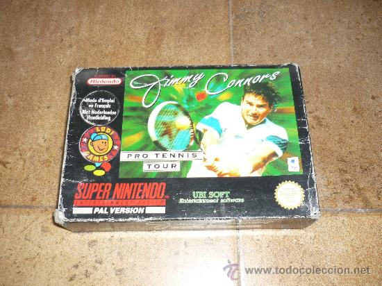 Videojuegos y Consolas: JUEGO SUPER NINTENDO 64 PAL VERSION JIMMY CONNORS PRO TENNIS TOUR 1993 - Foto 4 - 29286429