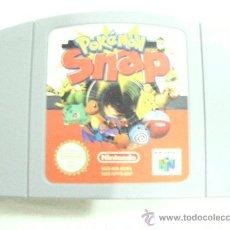 Videojuegos y Consolas: ANTIGUO JUEGO NINTENDO 64 POKEMON SNAP. Lote 30003350