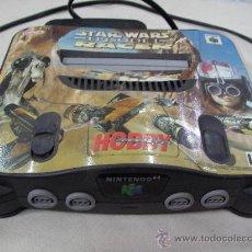 Videojuegos y Consolas: ANTIGUA CONSOLA NINTENDO 64 STAR WARS PERSONALIZADA. Lote 32128213