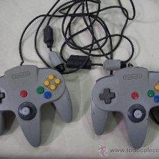 Videojuegos y Consolas: ANTIGUOS MANDOS NINTENDO 64. Lote 38177238