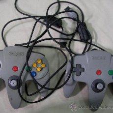 Videojuegos y Consolas: ANTIGUOS MANDOS NINTENDO 64. Lote 38177241