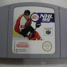Videojuegos y Consolas: ANTIGUO JUEGO SUPER NINTENDO 64 - NHL 99. Lote 32969085