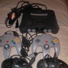 Videojuegos y Consolas: GRAN LOTE NINTENDO 64 CON CUATRO MANDOS Y CABLEADO. Lote 35365946
