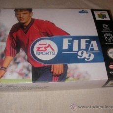 Videojuegos y Consolas: ANTIGUO EA SPORT FIFA 99 NUEVO EN SU CAJA CON INSTRUCCIONES. Lote 35375885