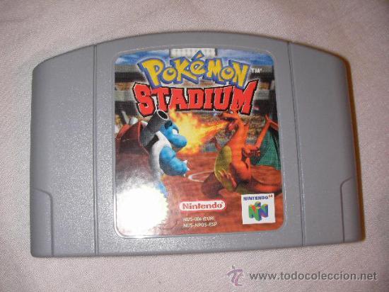 Antiguo Juego Nintendo 64 Pokemon Stadium Comprar Videojuegos Y