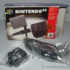 Videojuegos y Consolas: CABLE RF ANTENA NINTENDO 64 N64 EN CAJA . OFICIAL PARA CONSOLA. Lote 36329533
