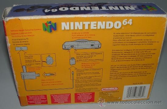 Videojuegos y Consolas: cable RF antena NINTENDO 64 N64 en caja . oficial para consola - Foto 2 - 36329533