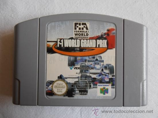 JUEGO NINTENDO 64 N64 F-1 WORD GRAND PRIX (Juguetes - Videojuegos y Consolas - Nintendo - Nintendo 64)