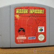 Videojuegos y Consolas: + MISSION IMPOSSIBLE NINTENDO 64 NUS EUR - ESPAÑA. Lote 38764754