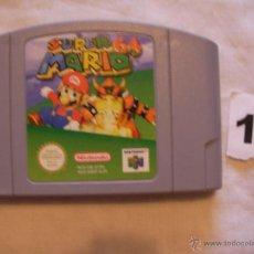 Videojuegos y Consolas: ANTIGUO JUEGO SUPER 64 MARIO NINTENDO 64. Lote 39659173