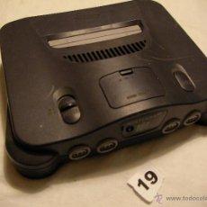 Videojuegos y Consolas: ANTIGUA CONSOLA NINTENDO 64. Lote 39856071
