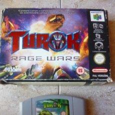 Videojuegos y Consolas: TUROK RAGE WARS - NINTENDO 64. Lote 40359997