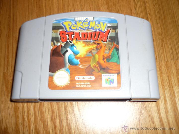 Pokemon Stadium Juego Nintendo 64 N64 Pal Espan Comprar