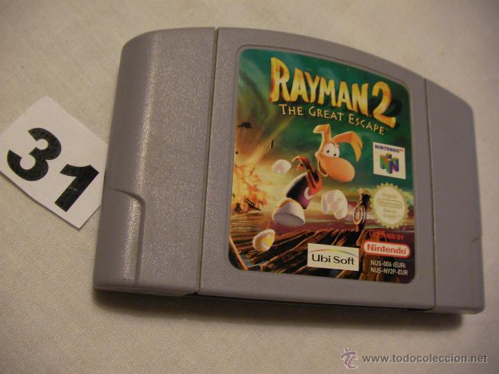ANTIGUO JUEGO NINTENDO 64 - RAYMAN 2 - LA GRAN ESCAPADA (Juguetes - Videojuegos y Consolas - Nintendo - Nintendo 64)