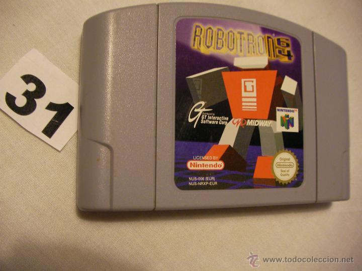 ANTIGUO JUEGO NINTENDO 64 - ROBOTRON 64 (Juguetes - Videojuegos y Consolas - Nintendo - Nintendo 64)