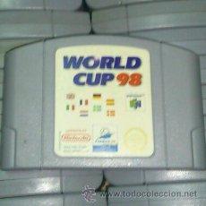 Videojuegos y Consolas: WORLD CUP 98 - NINTENDO 64. Lote 42357242