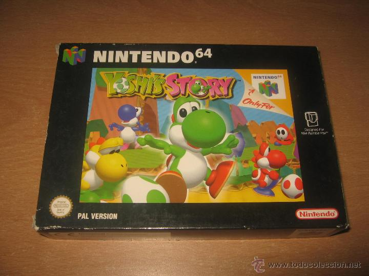 Yoshi's story nintendo 64 pal completo - Sold through Direct
