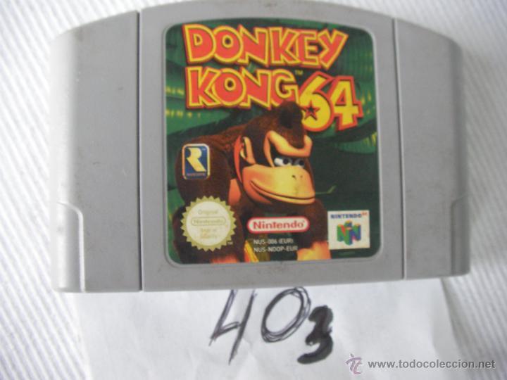 ANTIGUO JUEGO NINTENDO 64 - DONKEY KONG 64 (Juguetes - Videojuegos y Consolas - Nintendo - Nintendo 64)