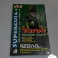 Videojuegos y Consolas: SUPERGUIA 64 Nº 4 NINTENDO 64. Lote 46173837