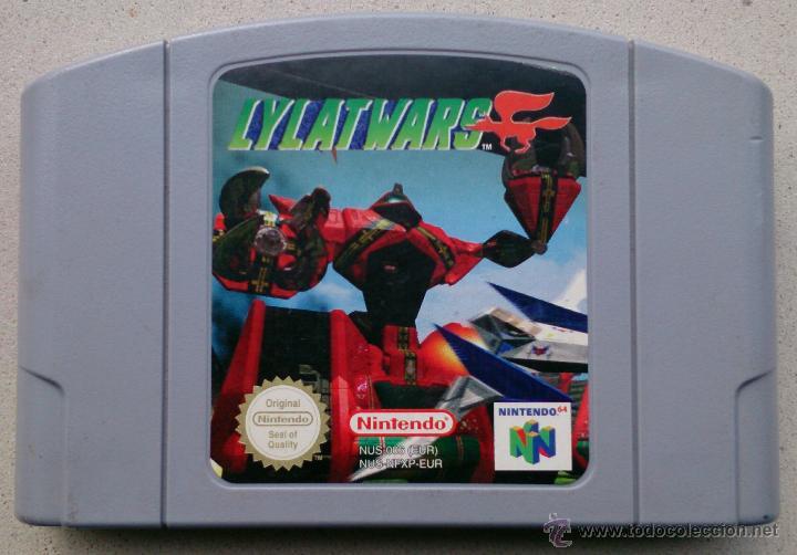 Juego Nintendo 64 Lylatwars Comprar Videojuegos Y Consolas